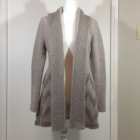 Angel of the North Open Front Cardigan Sweater